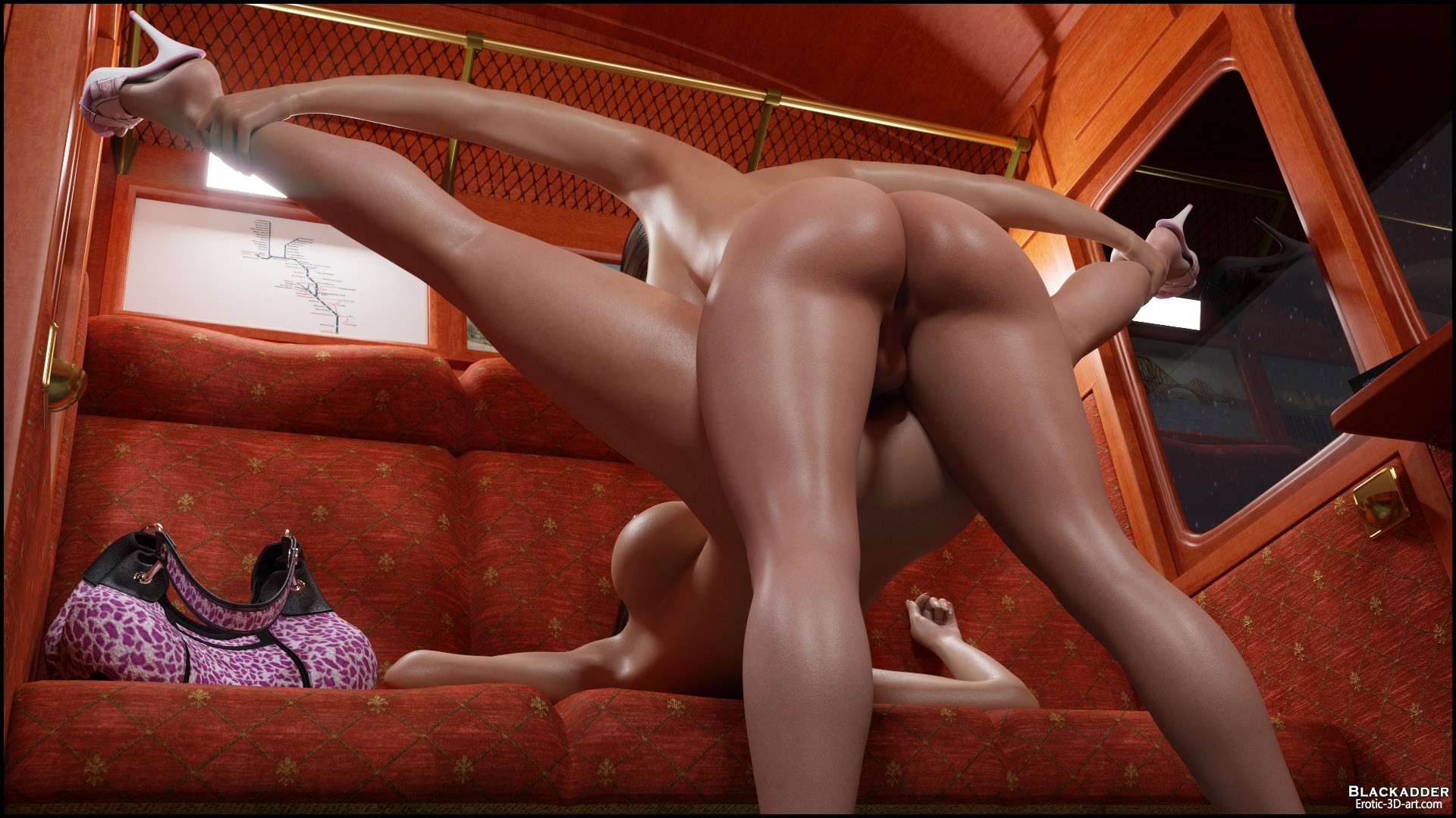 3d porn pictures in train smut video