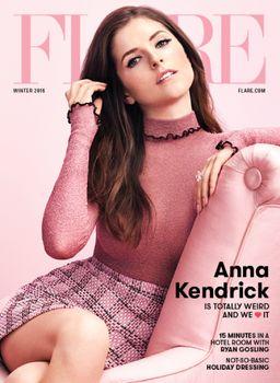 Anna Kendrick - Flare Magazine Winter 2016